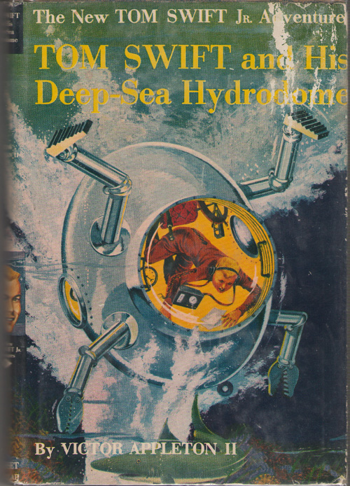 Image for Tom Swift And His Deep-sea Hydrodome