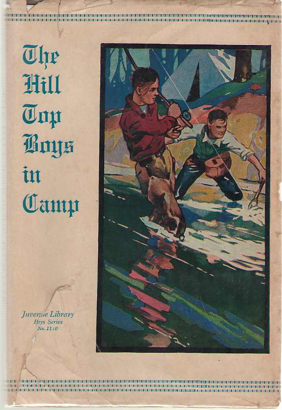 Image for The Hilltop Boys In Camp Or, the Rebellion At the Academy