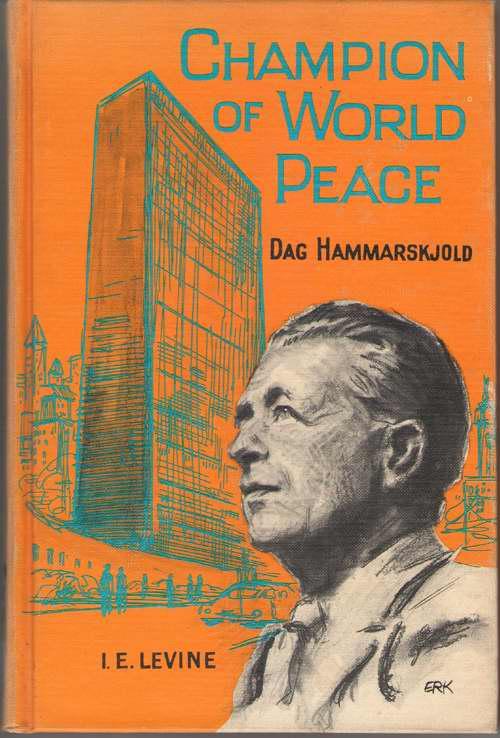 Image for Champion Of World Peace Dag Hammarskjold