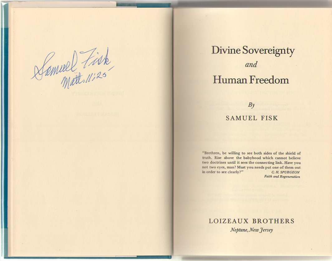 Image for Divine Sovereignty And Human Freedom