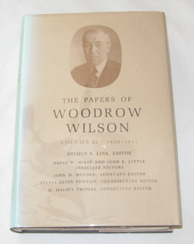 Image for The Papers of Woodrow Wilson, Vol. 22, 1910 - 1911