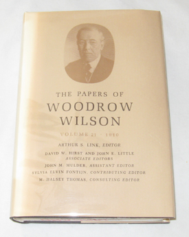 Image for The Papers of Woodrow Wilson, Vol. 21, 1910