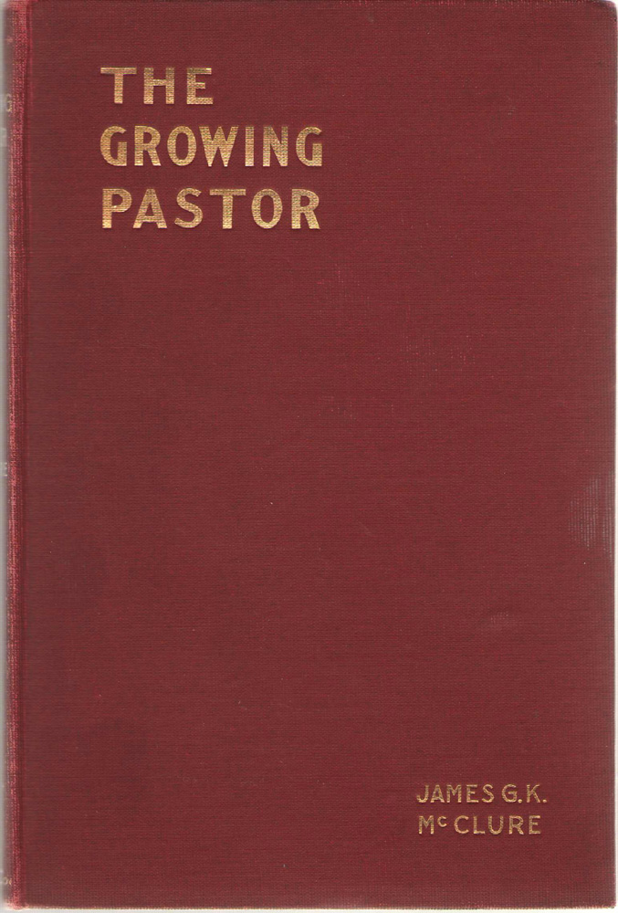 Image for The Growing Pastor