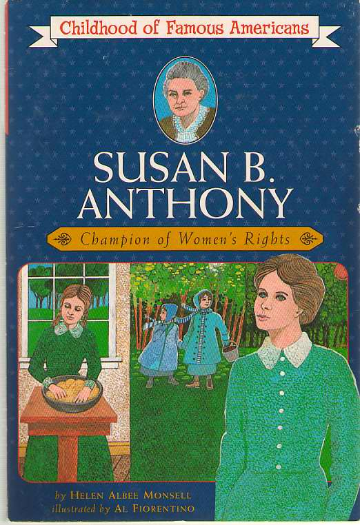 Image for Susan B. Anthony  Champion of Women's Rights