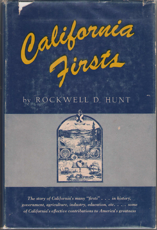 Image for California Firsts