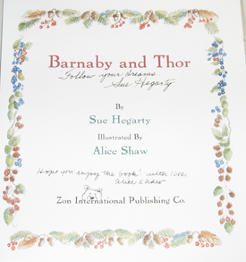 Image for Barnaby and Thor