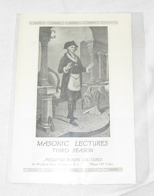 Image for Masonic Lectures - Third Series