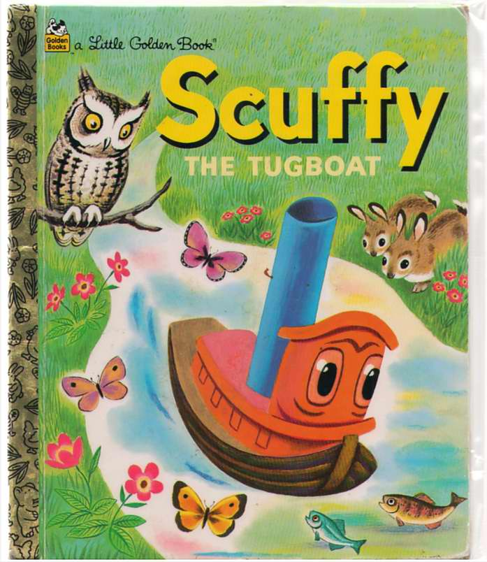 Image for Scuffy The Tugboat And His Adventures Down The River