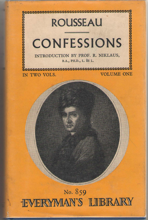 Image for Confessions, Volume 1