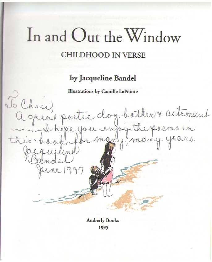 Image for In and Out the Window  Childhood in Verse