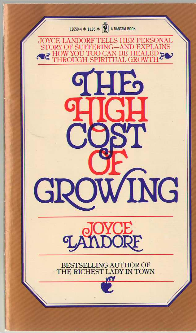Image for High Cost Of Growing