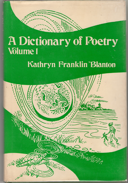 Image for Dictionary of Poetry  Volume I