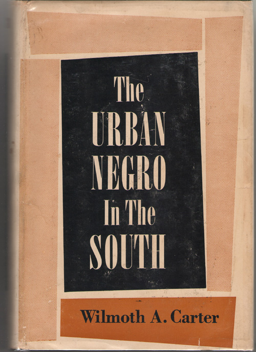 Image for The Urban Negro In The South
