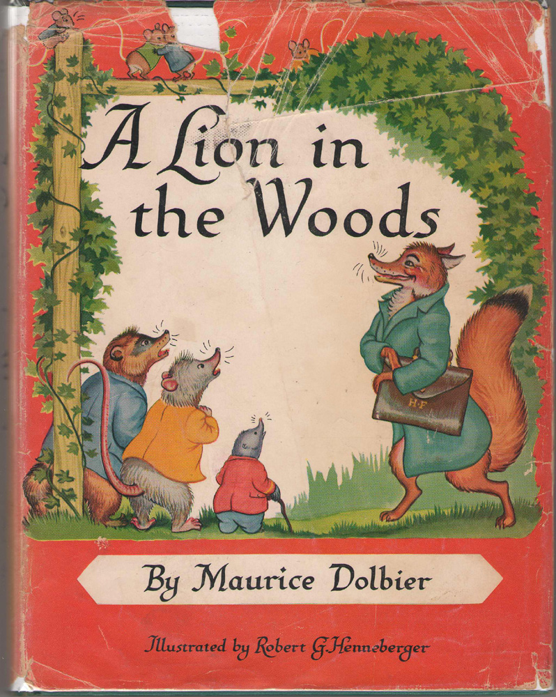 Image for A Lion In The Woods