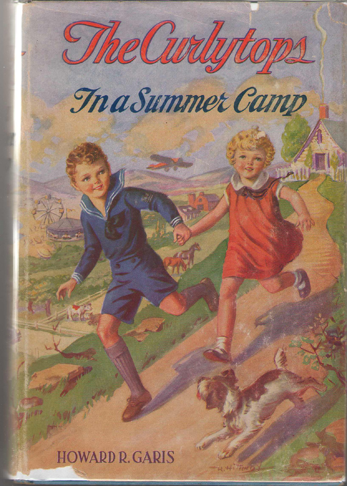Image for The Curlytops In A Summer Camp Or, Animal Joe's Menagerie