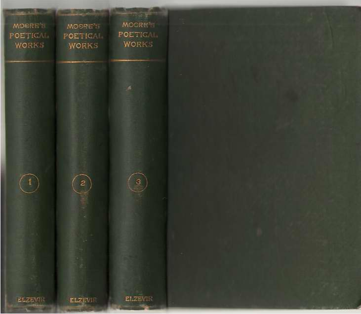 Image for The Poetical Works Of Thomas Moore In Three Volumes