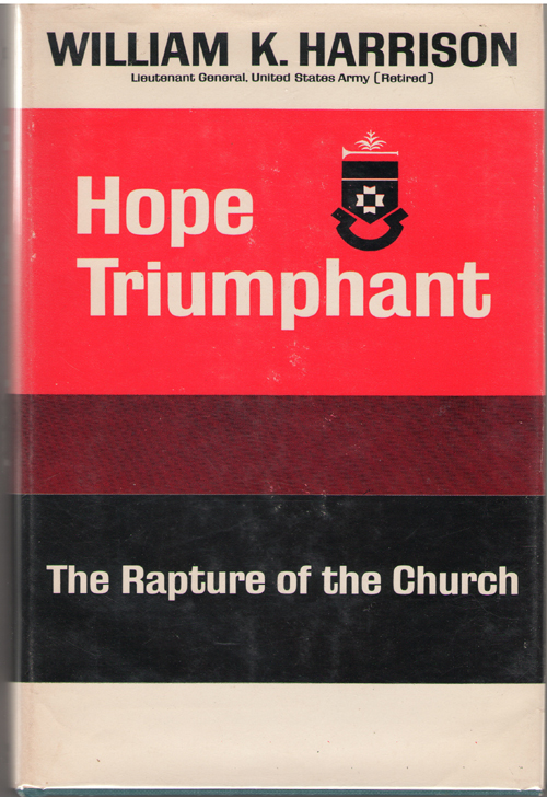 Image for Hope Triumphant  Studies on the Rapture of the Church