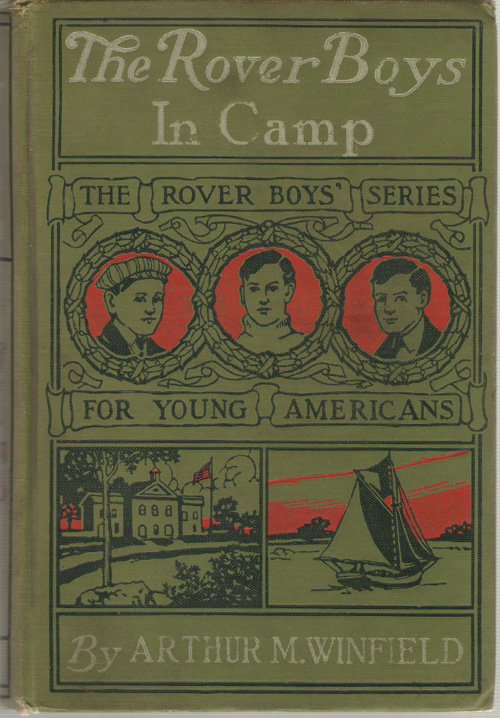 Image for The Rover Boys In Camp Or, the Rivals of Pine Island