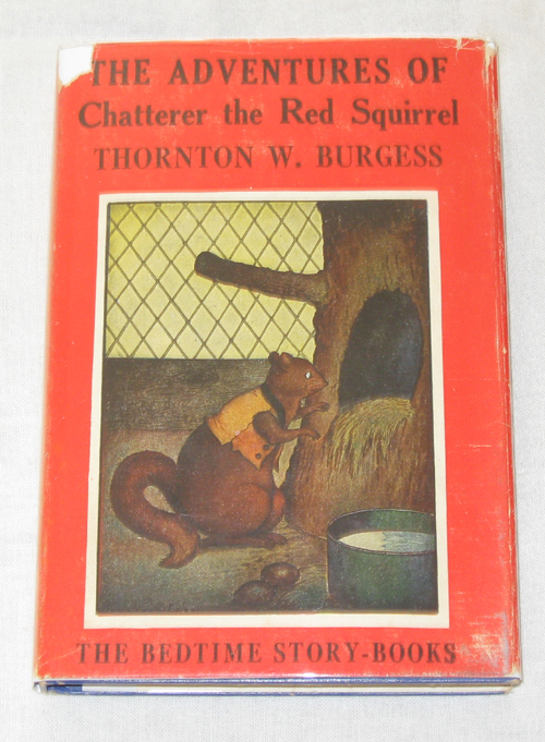 Image for The Adventures Of Chatterer The Red Squirrel