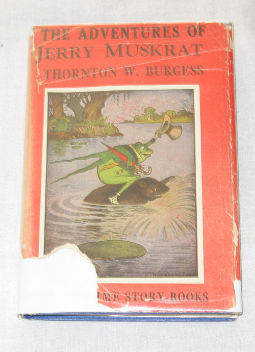 Image for The Adventures Of Jerry Muskrat