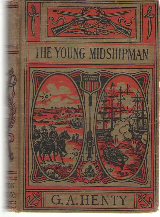 Image for The Young Midshipman A Story of the Bombardment of Alexandria