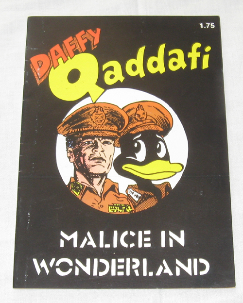 Image for Daffy Qaddafi  Malice In Wonderland