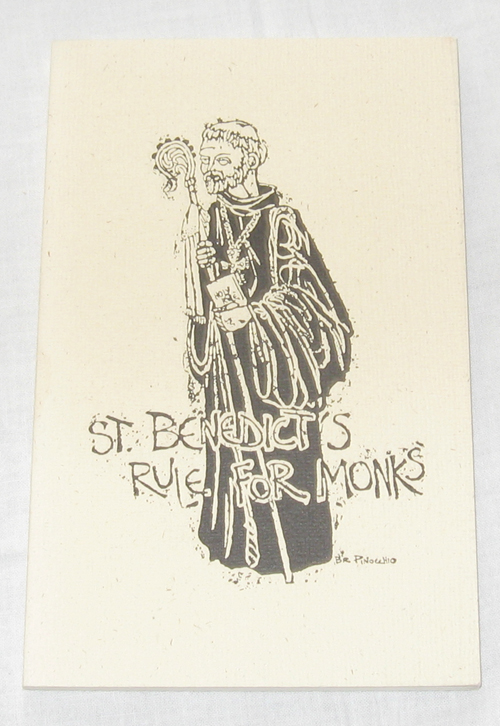 Image for St. Benedicts Rule for Monks  Selected Passages from the Rule of St. Benedict