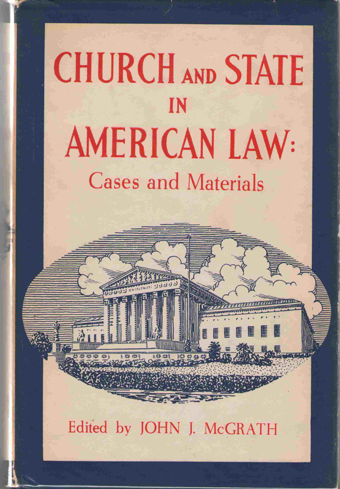 Image for Church And State In American Law  Cases and materials