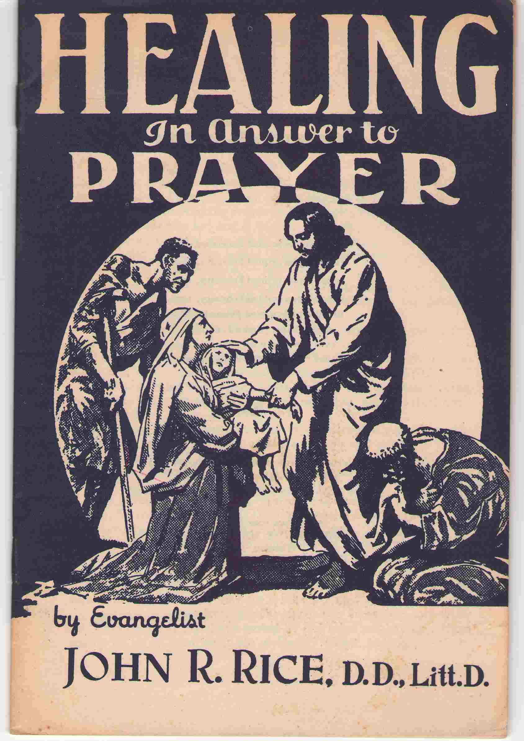 Image for Healing In Answer To Prayer