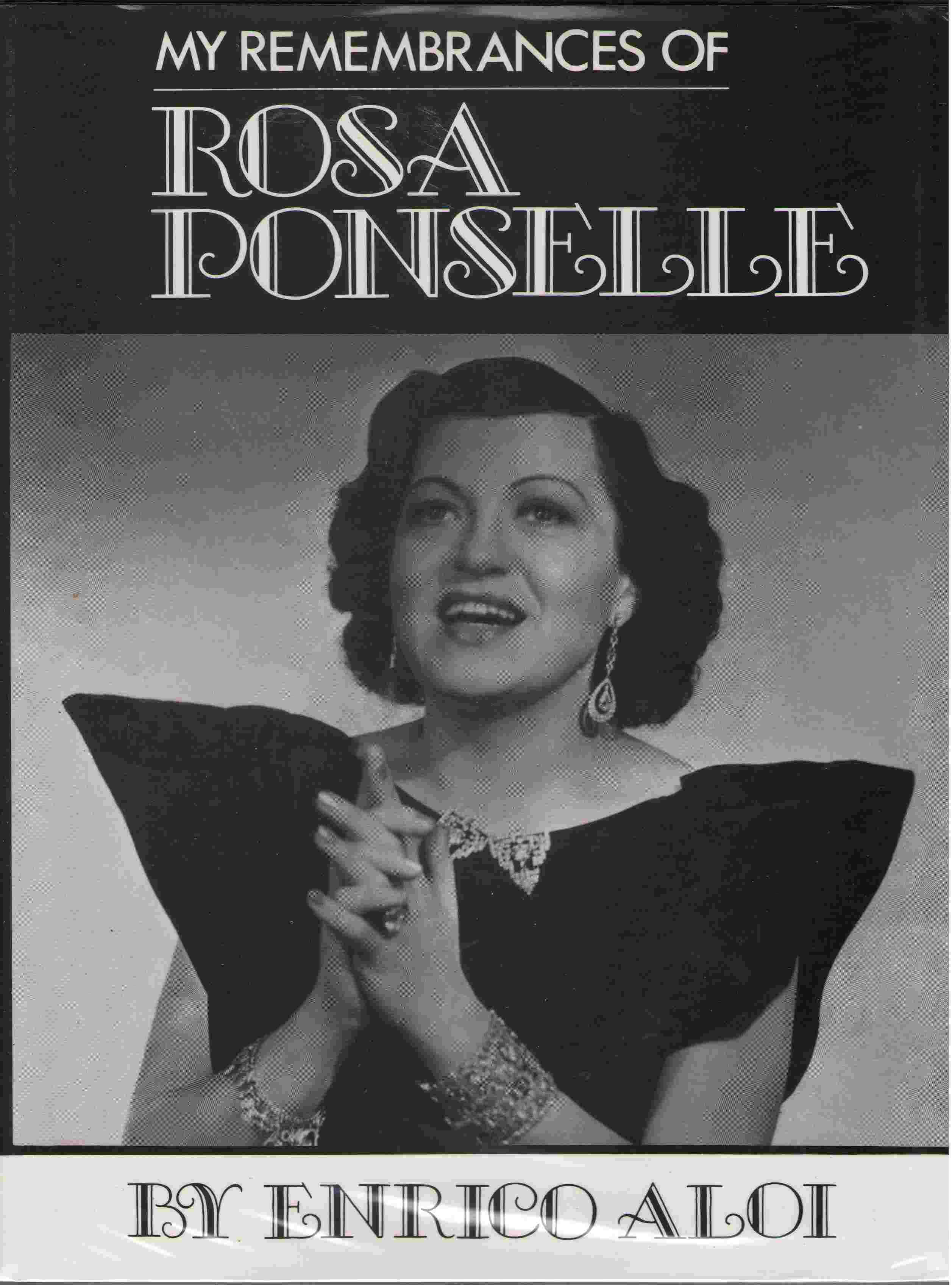 Image for My Remembrances of Rosa Ponselle