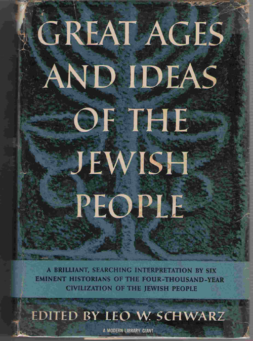 Image for Great Ages And Ideas Of The Jewish People