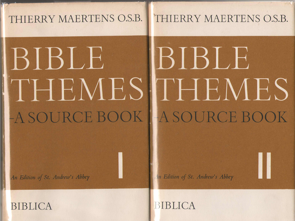 Image for Bible Themes A Source Book; 2 Volume Set