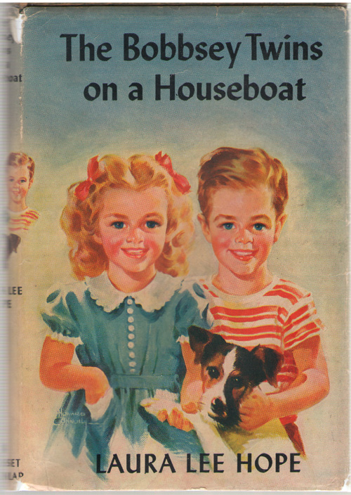 Image for The Bobbsey Twins On A Houseboat