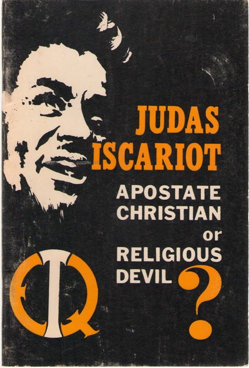 Image for Judas Iscariot Apostate Christian or Religious Devil