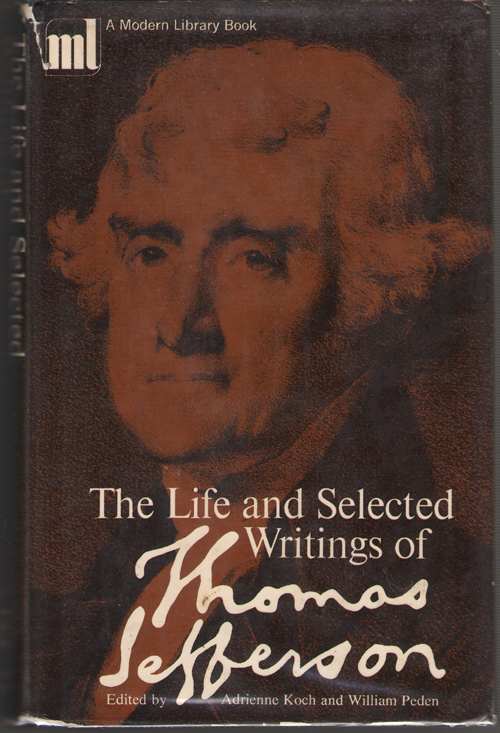 Image for The Life and Selected Writings of Jefferson