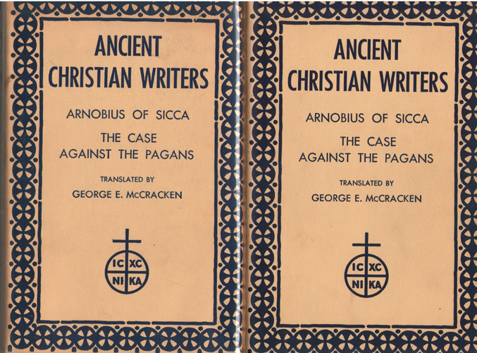 Image for The Case Against the Pagans   (2 Volume Set)