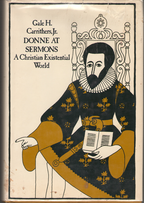 Image for Donne at Sermons  A Christian Existential World
