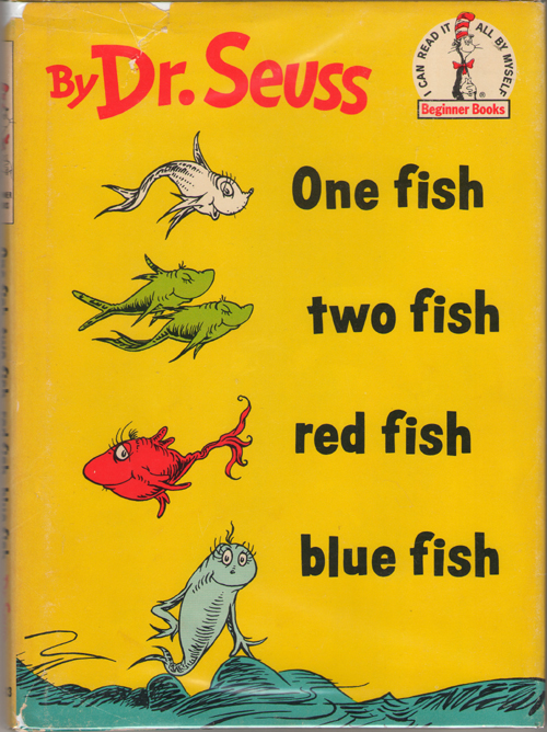 Image for One Fish Two Fish Red Fish Blue Fish