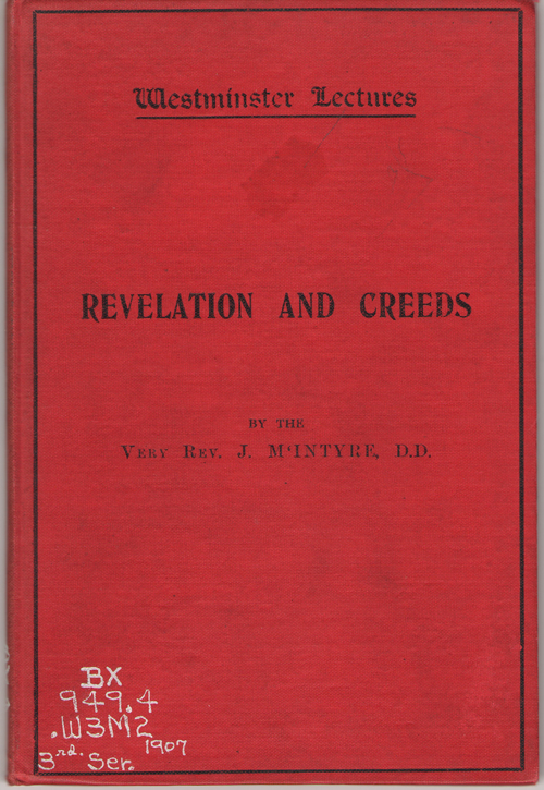 Image for Revelation and Creeds