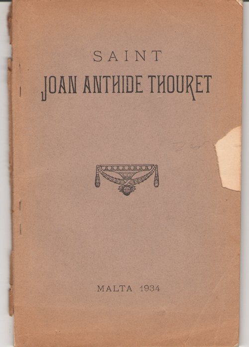 Image for Saint Joan Anthide Thouret Foundress of the Sisters of Charity under the Protection of St. Vincent De Paul (1765-1826)