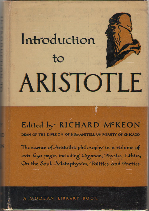 Image for Introduction To Aristotle