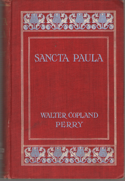 Image for Sancta Paula A Romance of the Fourth Century A. D.
