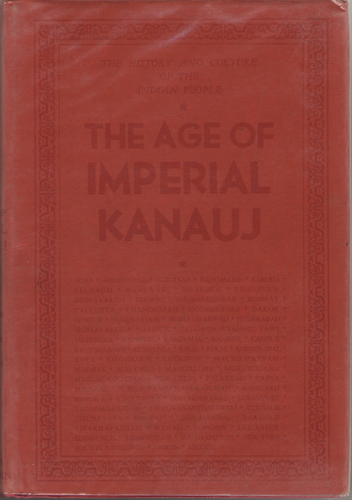 Image for The History And Culture Of The Indian People Vol. IV - the Age of Imperial Kanauj