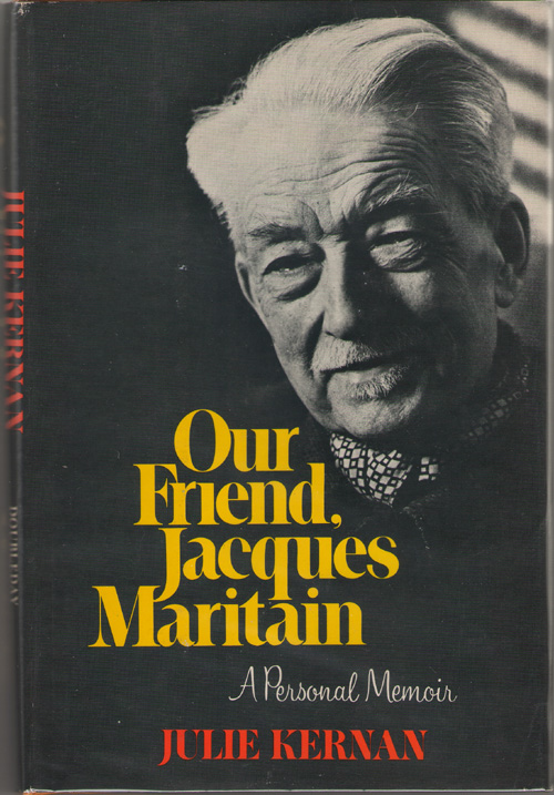 Image for Our Friend, Jacques Maritain A Personal Memoir
