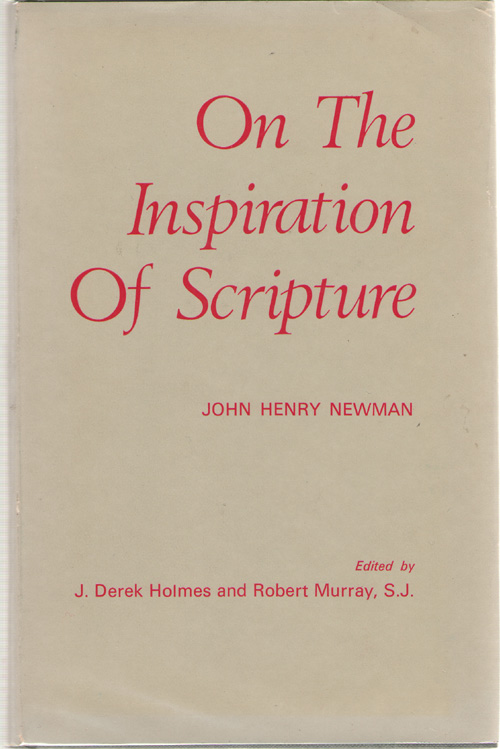 Image for On The Inspiration Of Scripture