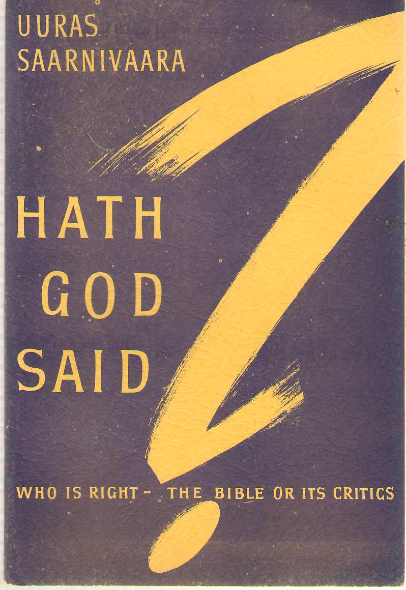 Image for Hath God Said?  Who is Right - God or the Liberals?