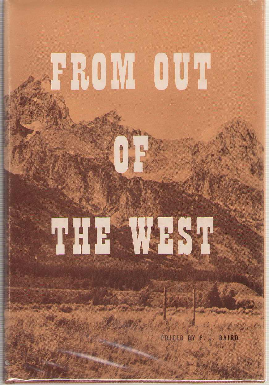 Image for From Out of the West. Messages From Western Pulpits