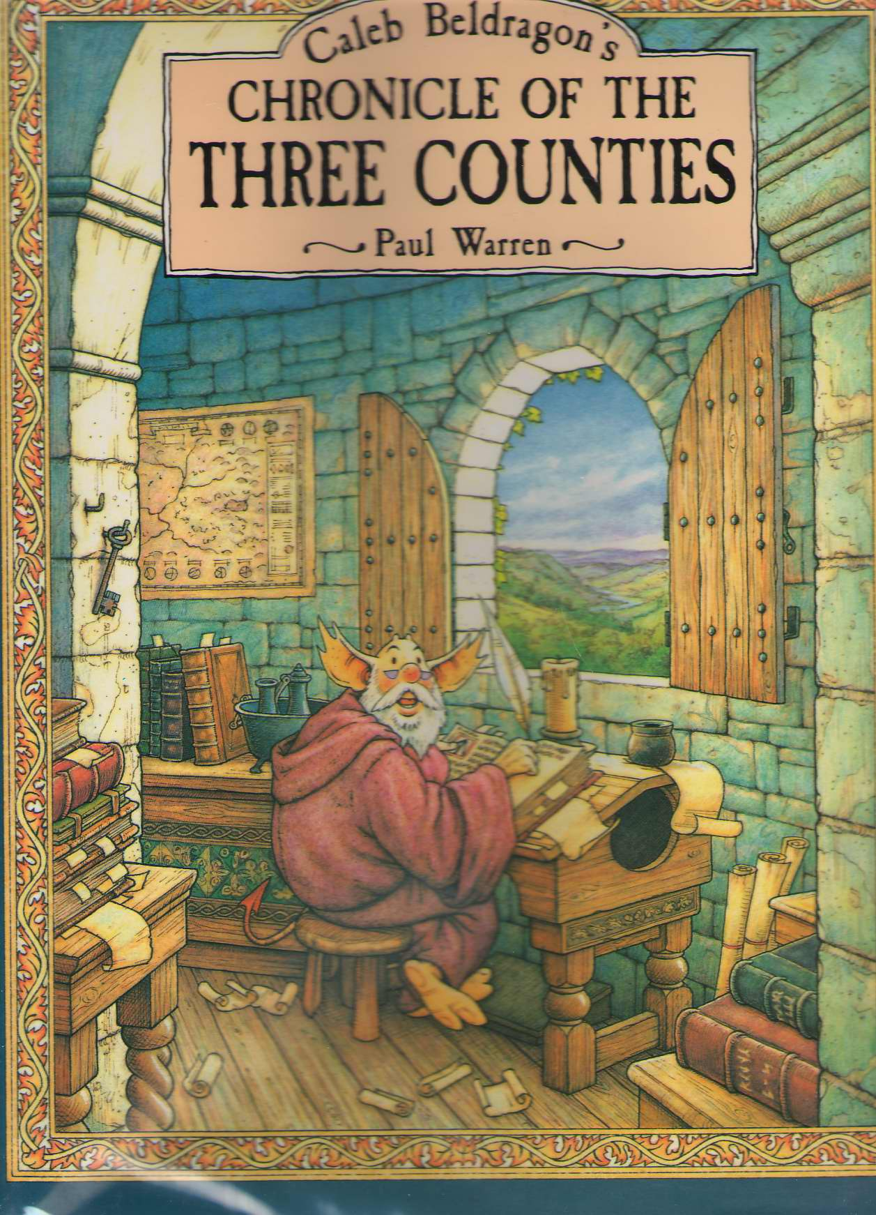 Image for Caleb Beldragon's Chronicle of the Three Counties