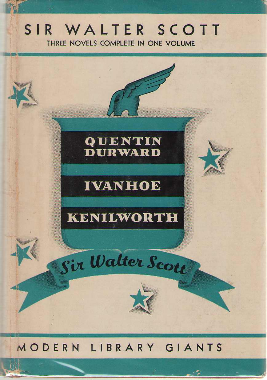 Image for Three Novels Quentin Durward; Ivanhoe; Kenilworth