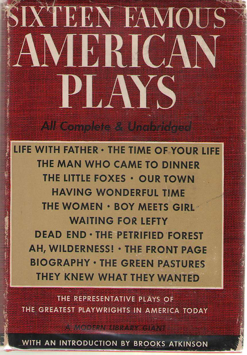 Image for Sixteen Famous American Plays